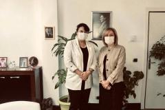 Şirketimiz Genel Müdür Yardımcısı Dilek ÖNAL ile Anfa Genel Müdür Yardımcısı Leyla YÜKSEL OSGB Hizmetleri toplantısında bir araya geldiler.